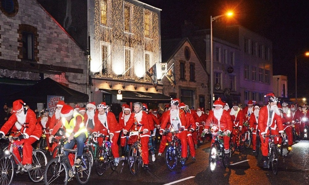 Cork Santa Cycle 2019