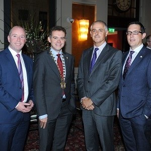Ronan Daly Jermyn Sponsors Cork Chamber 'Connecting Cork' event in London