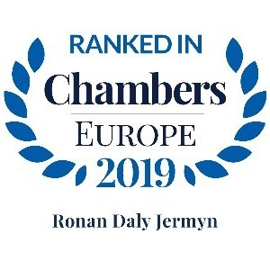 Chambers Europe Ranks Ronan Daly Jermyn Highly in 2019 Guide