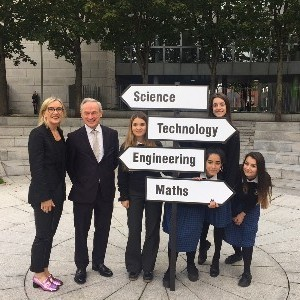 Minister for Education and Skills Richard Bruton T.D. officially launches I WISH 2017