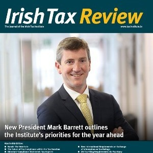 Interview with New Irish Tax Institute President, Mark Barrett