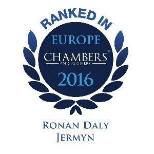Chambers Europe Ranks Ronan Daly Jermyn Highly in 2016 Guide