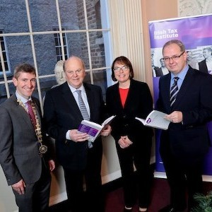 Minister Michael Noonan launches Irish Tax Policy in Perspective