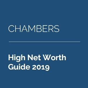 RDJ Private Client practice ranked by Chambers HNW 2019