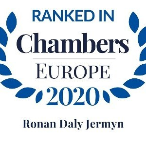 Chambers Europe Ranks Ronan Daly Jermyn Highly in 2020 Guide